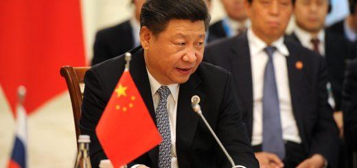 Xi Jinping en Tashkent, junio 2016